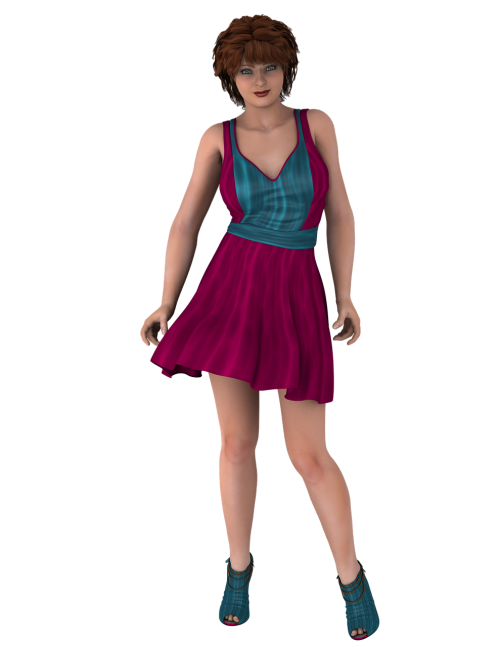 lady fashion dress