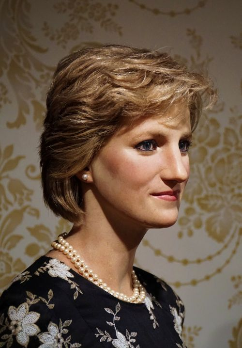 Lady di,Lady,diana,Mirė,Anglija,Jungtinė Karalystė,didybė,karaliaus namas,portretas,veidas,panašumas,vaško figūra,Madame tussaud