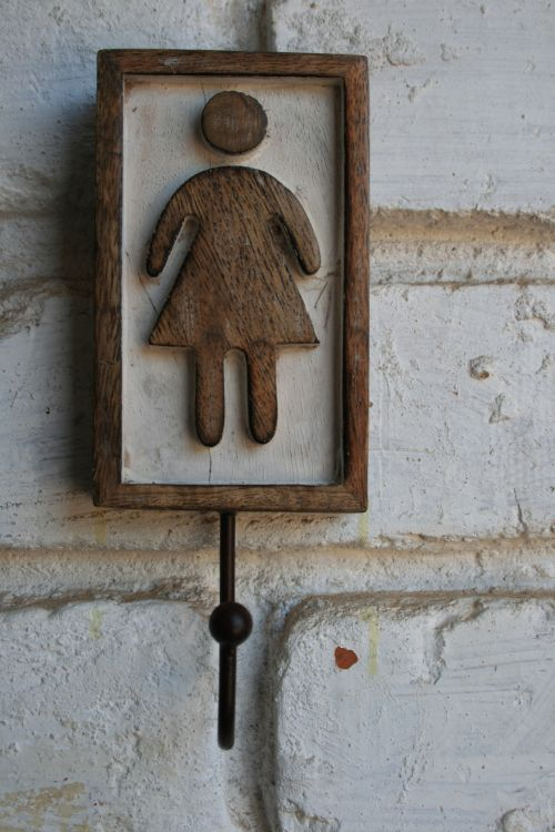 Lady Sign