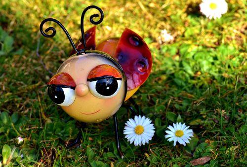 ladybug metal colorful