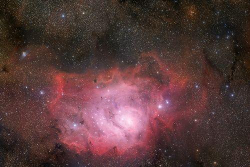 lagoon nebula messier 8 ngc 6523