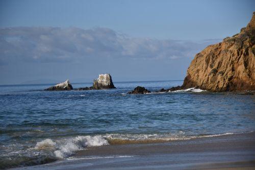 laguna & nbsp, paplūdimys, Kalifornija & nbsp, paplūdimys, vandenynas, kraštovaizdis, papludimys, vasara, lauke, gamta, vandenyno & nbsp, peržiūra, potvynis, akmenys, aiški & nbsp, diena, lagūnos paplūdimys