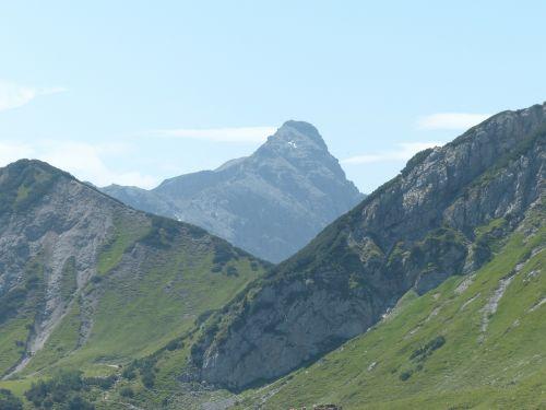 lailachspitze mountain alpine