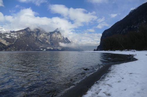 lake lake walen churfirsten