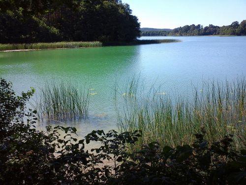 lake szurpiły suwałki region