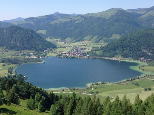 lake austria nature