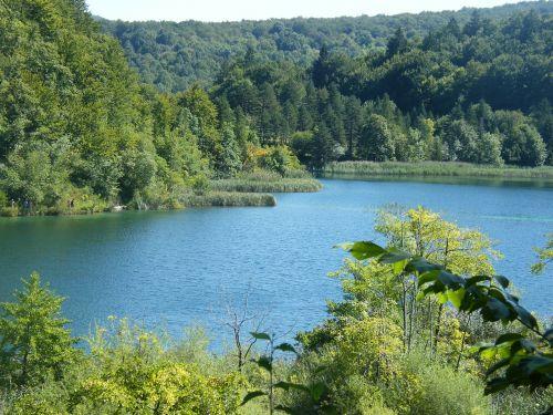 lake blue croatia