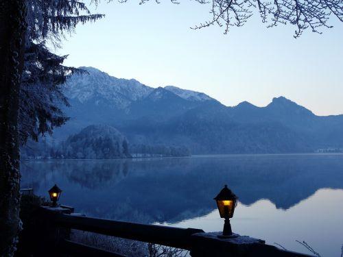lake kochelsee waters
