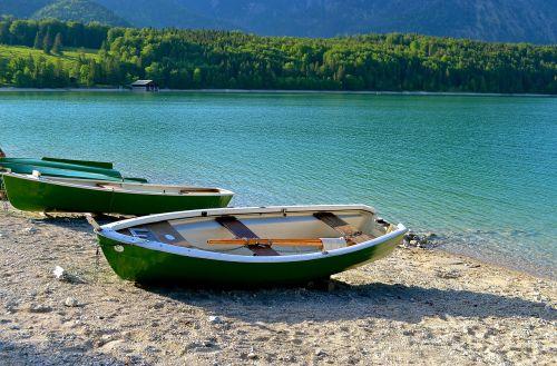 lake boot nature