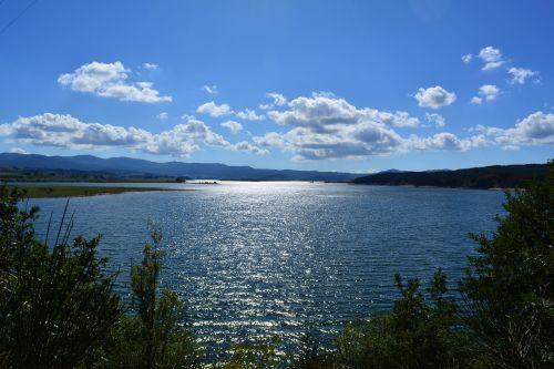lake summer mountain