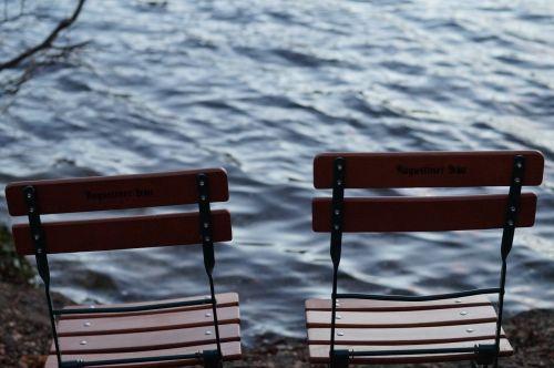 lake chairs water
