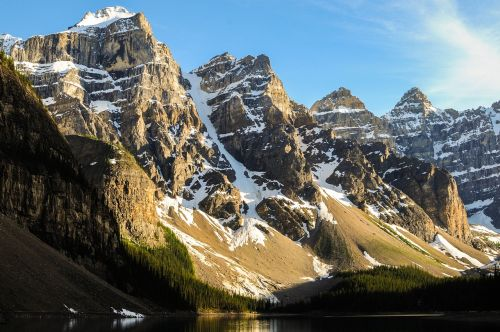 lake landscape mountain