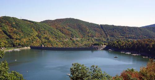 lake edersee reservoir