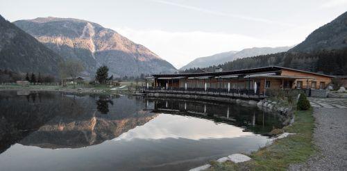 lake pond lake view