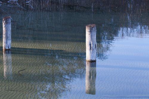 lake pier water