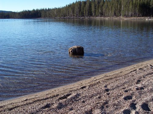 lake peaceful healing