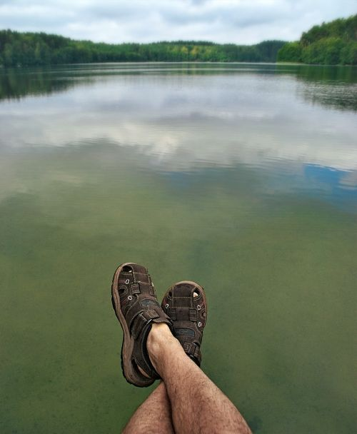 lake legs sandals