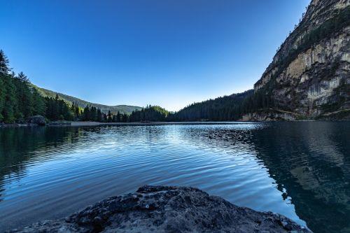 lake bergsee mountain lake