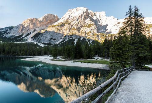 lake bergsee panorama