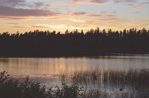 lake sweden outdoor