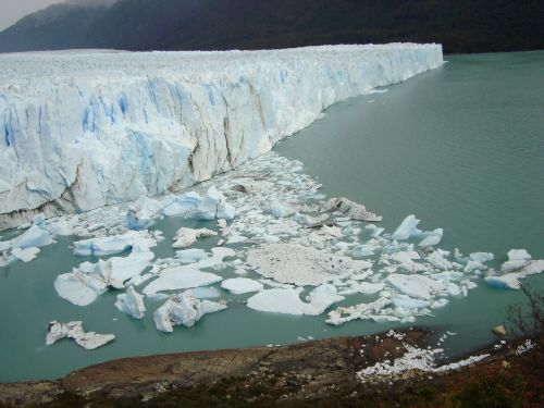 lake defrost glacier