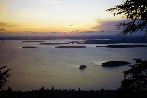 lake sunrise finnish