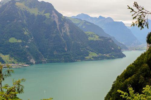 lake bergsee alpine