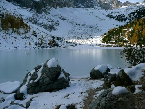 lake sorapiss cortina