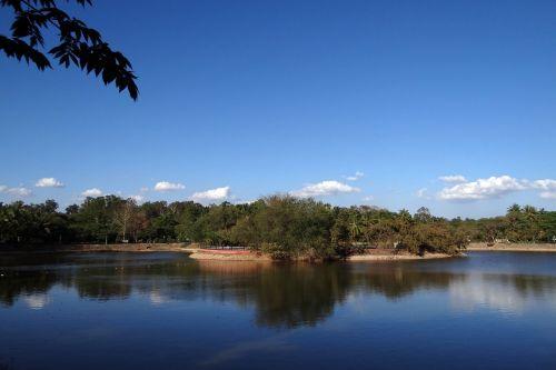 lake sky water