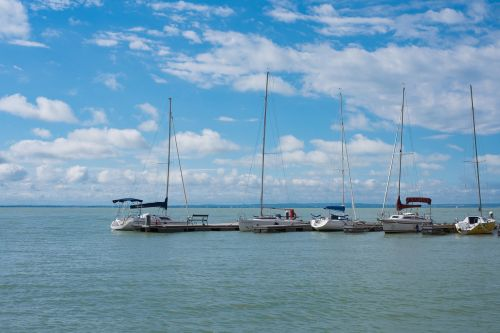 lake lake balaton ship