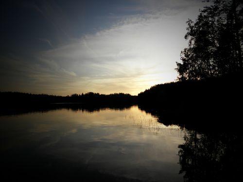 lake lake in finland saimaa