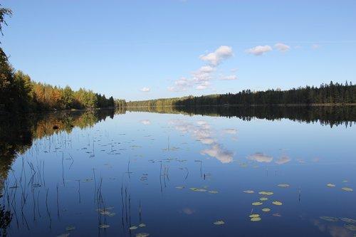 lake  reflection  water bodies