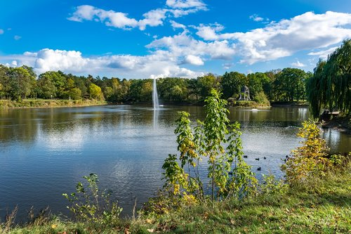 lake  park  magdeburg