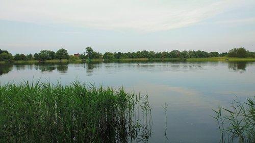 lake  village  poland village