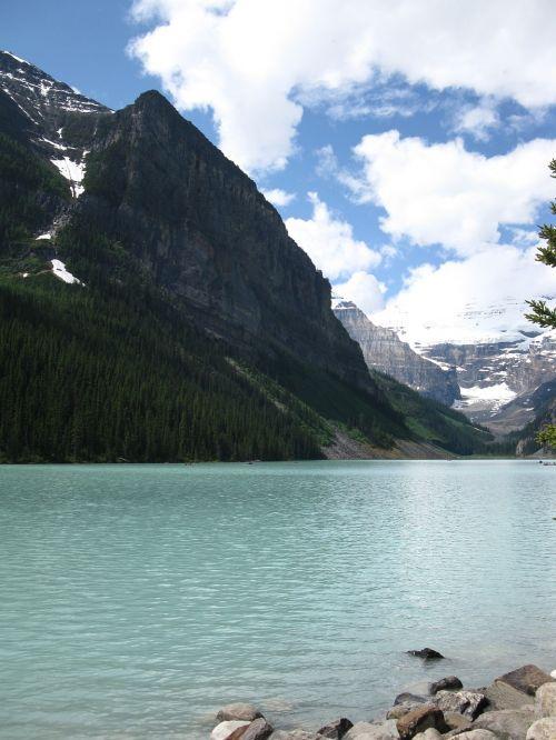 lake canada mountain