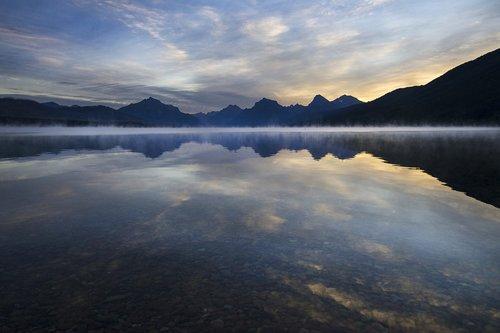 lake  mcdonald  landscape