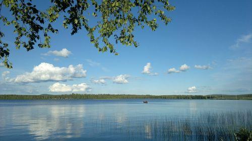 lake summer finnish