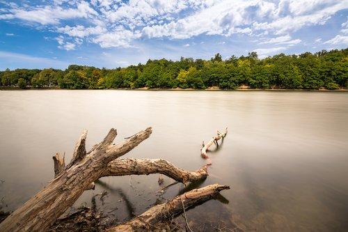 lake  long exposure  water