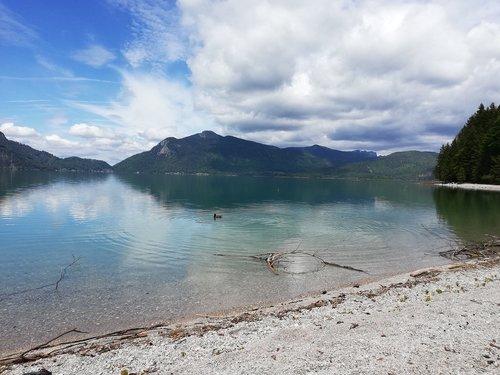 lake  walchensee  bavaria