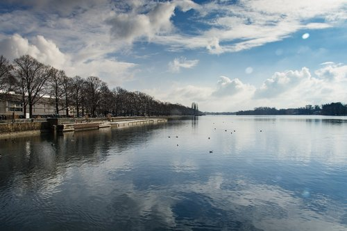 lake  hanover  lake maschsee