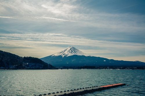 lake fuji-san japan
