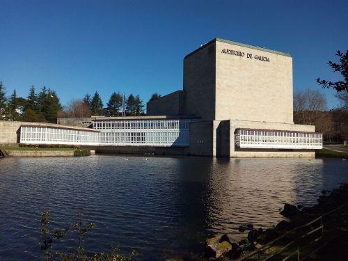 lake auditorium of galicia compostela