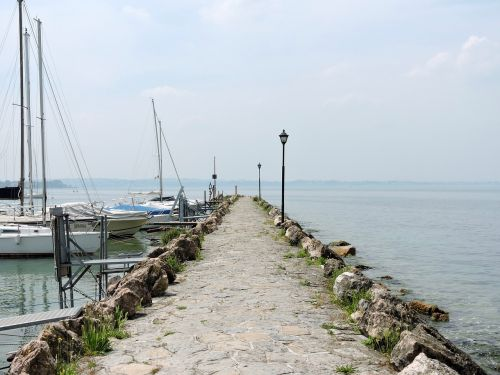 lake garda jetty