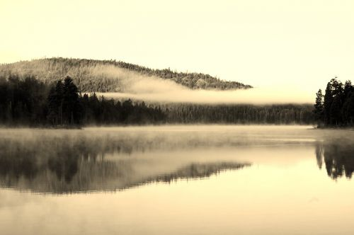lake fog symmetry