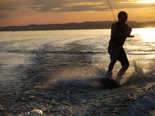 lake lake constance wakeboard