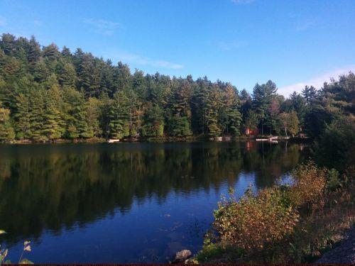 lake water reflection reflection