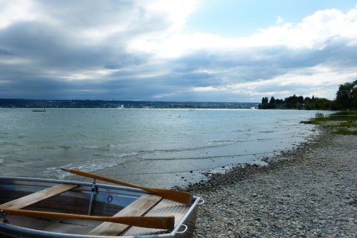 boot lake constance rowing boat