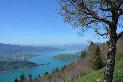 lake annecy water nature