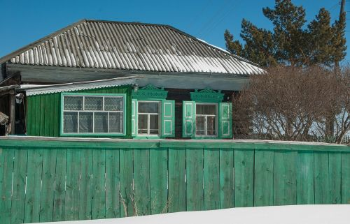 lake baikal wooden house closing