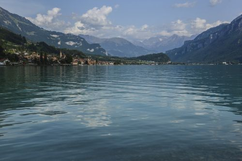 lake brienz brienz alpine
